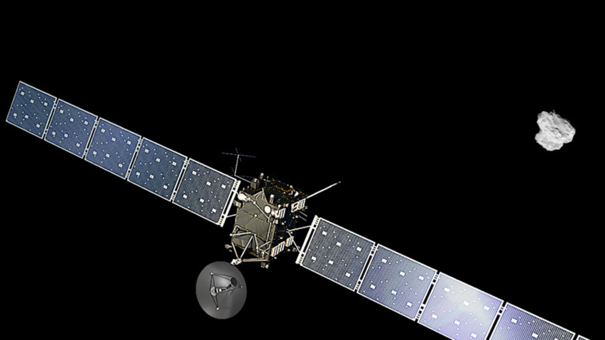 Rosetta_arrives_at_comet_pillars